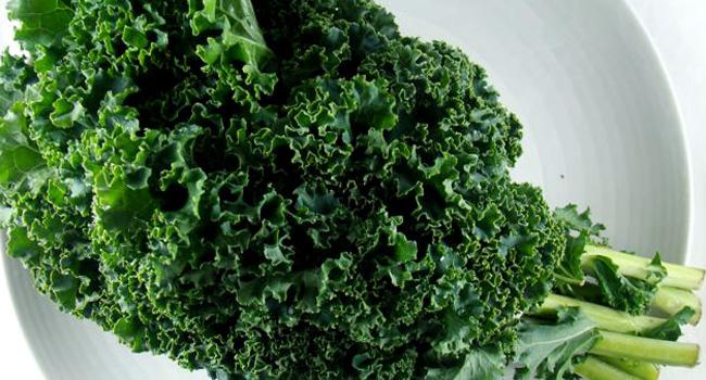 здравословни храни - къдраво зеле