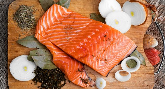 здравословни храни - сьомга