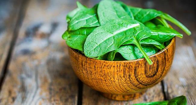 здравословни храни - спанак